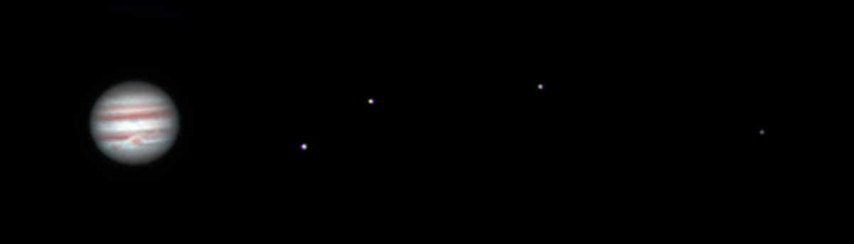 Jupiter and the Galilean Moons | University of Oxford ...