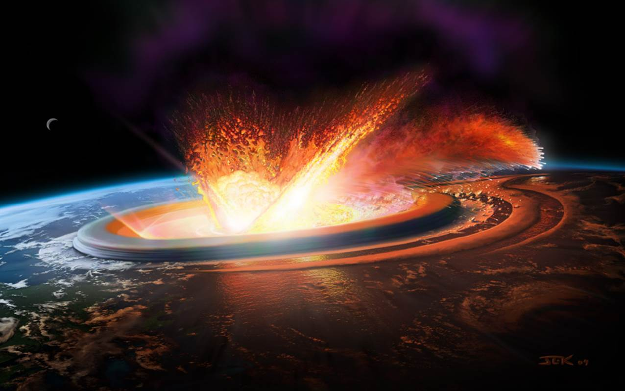Our Violent Solar System Planetary Impacts And Meteors