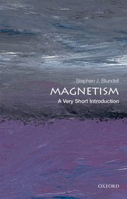 book cover of a very short introduction to magnetism