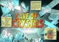 poster design about the cave of crystals