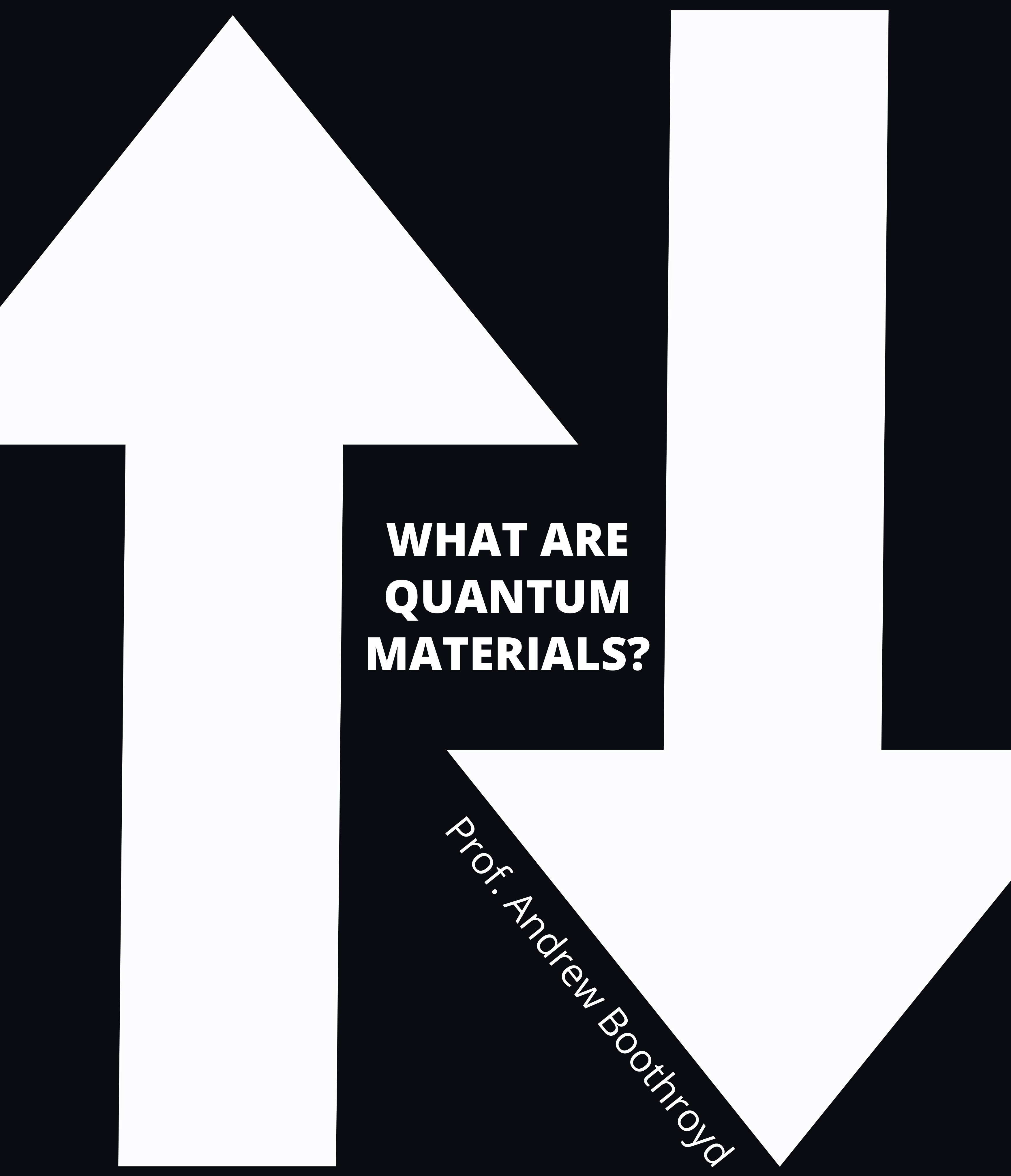 What are Quantum Materials?