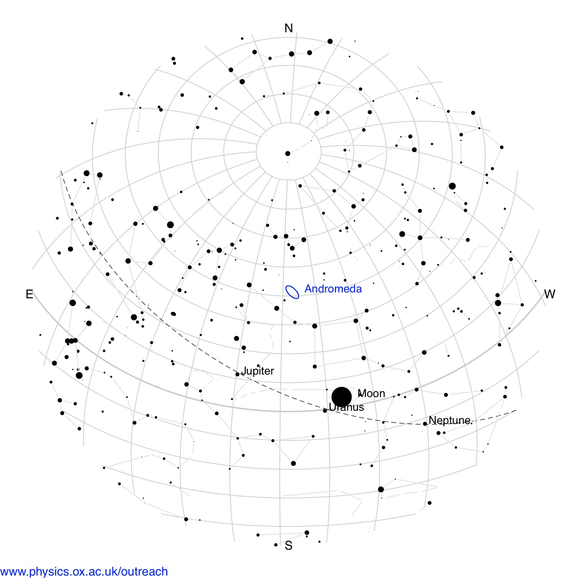 What Is A Star Map.What Can You See In The Night Sky This Week University Of Oxford