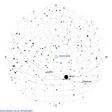 What Can You See In The Night Sky This Week University Of - Us night sky map