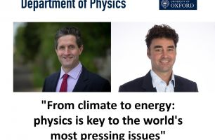 Portraits of Prof Allen and Prof Snaith
