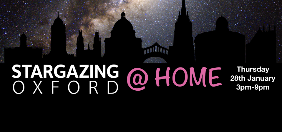 Stargazing@Home 2021 poster